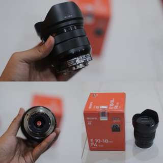 Sony FE 10-18 F4 OSS
