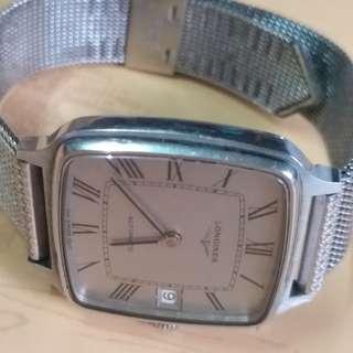浪琴 古董 自動機械 女錶  罕有 可換物