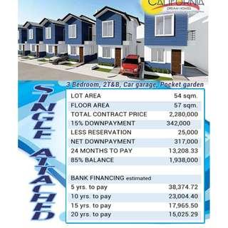 2 BR Townhouse for Sale in Dulong Bayan San Mateo