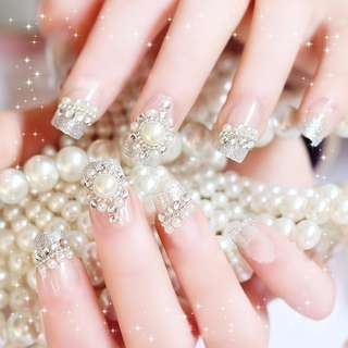 Nail Art wedding