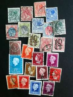 Nederland used stamps
