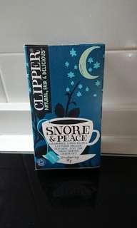 Clipper snore & peace organic tea