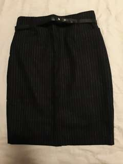 Striped Pencil Skirt (Fits 6-8)