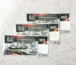 SGD $50 old notes