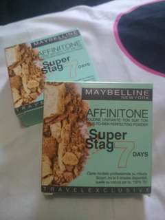 MAYBELLINE SUPER STAG AFFINITONE POWDER