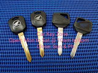Honda Bike Hiss Type 1 Key