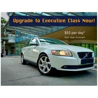 Upgrade to Volvo Executive Class Motoring