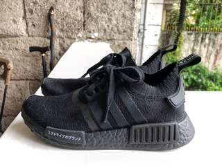 NMD R1 Pk Japan Triple Black