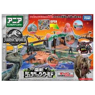 特價現貨 原裝正版日本TAKARA TOMY 侏儸紀世界  jurassic world電影場景過關玩具套裝 figure (不是Bandai ,sanrio, tomica,disney,Pinocchio,lego)