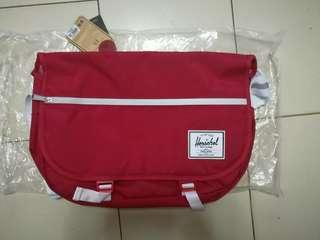 Red Herschel Bag