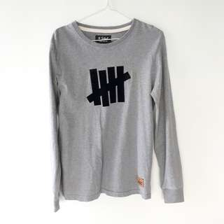 BNWOT UNDEFEATED INSPIRED Grey Pullover