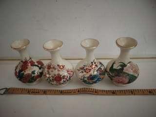 Mini porcelain flower vase (4 cps)