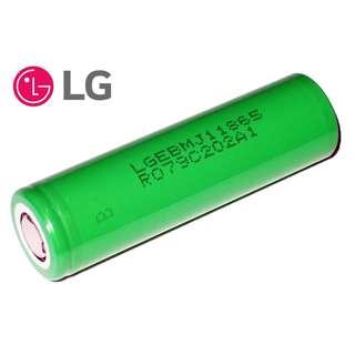 {MPower} 韓國 LG 18650 3500mAh 3.7V Battery 鋰電池 充電池 (適合 芭蕉扇) - 原裝正貨