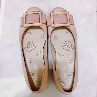 ORIN 舒適 平底鞋 淺粉色