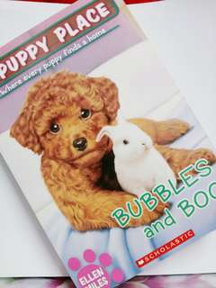 Bubbles and boo book for book lovers or kids