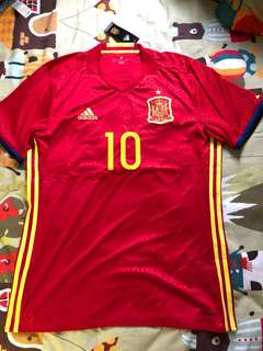 Adidas Spain Home Jersey Size M Fàbregas 西班牙法比加斯