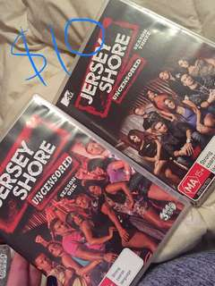 Jersey shore 1&3 dvds
