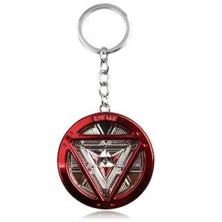 Iron man arc reactor keychain