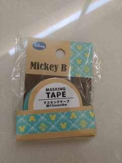 Brand new Mickey B. Masking Tape
