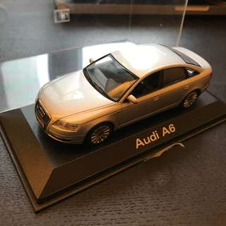 Minichamps 1:43 Audi A6 silver