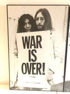 War Is Over - John Lennon & Yoko Ono Poster