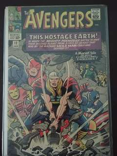 The Avengers #12 (Jan 1965, Marvel)