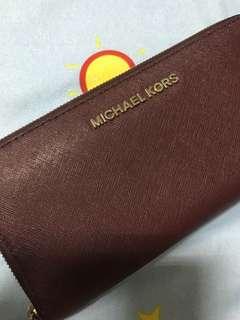 🚚 Michael kors MK 長夾 專櫃購入 九成新