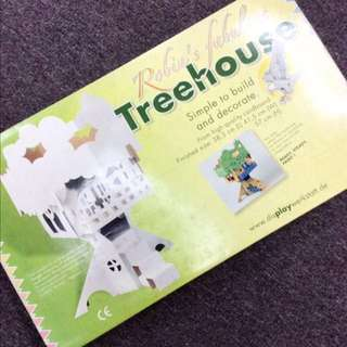 [BNIB] PRICE REDUCED - Large Size Cardboard Treehouse.
