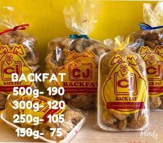 Backfat Chicharon