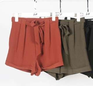 Faith Paper Bag Shorts