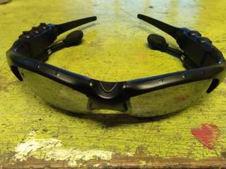 blietooth eyeglasses with free case and charger connector