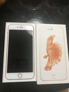 Iphone 6s+ Rosegold 16GB