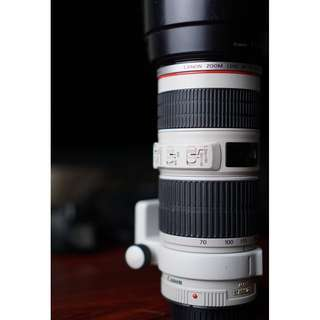 CANON 70-200MM F4L IS USM REALLY LIKE NEW!