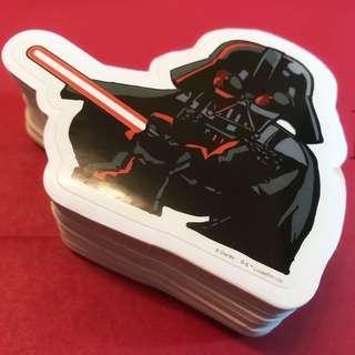 (50張) Darth Vader 黑武士 sticker