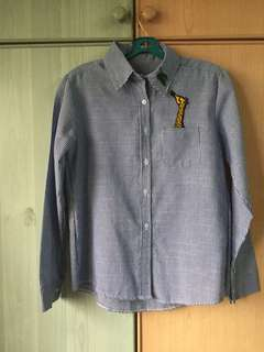 Embroidery Stripes shirt
