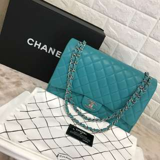 Chanel maxi flap full set