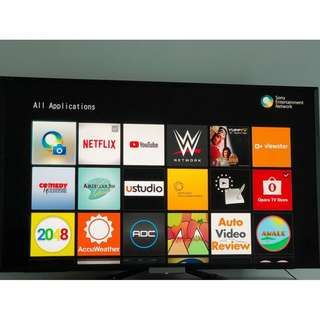 "50"" SONY SMART HD LED TV 50 inches BRAVIA KDL-50W704A"