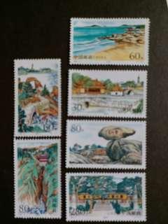 中國郵票1999-6 普陀秀色 普陀山一套六全全新