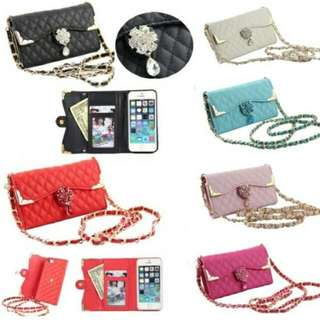 2-in-1 mini handbag style phone case + wallet for Samsung Note 4