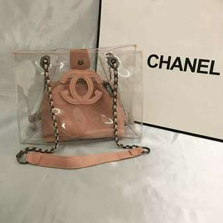 Chanel 2in 1 bags