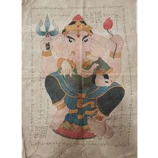 Old elephant God Lanna Phayant
