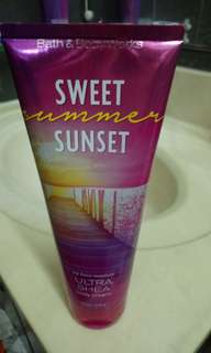 Bath and body works lotion and body mist