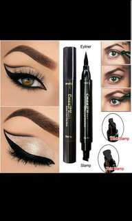 Eyeliner with wing stamp(thick/thin)
