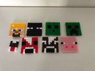 Bead Figurines - Minecraft mobs