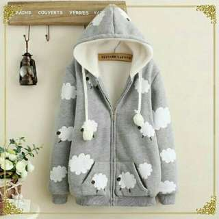 Sale -  Jacket Cloud Grey