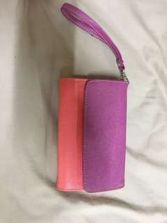 Colored wallet
