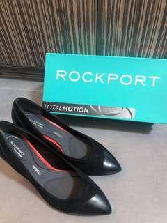 ROCKPORT黑色高踭鞋
