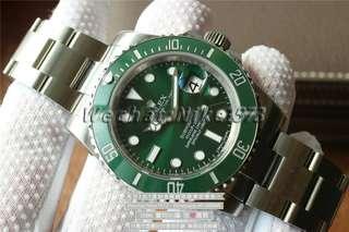 勞力士 Rolex 潛航者 Submariner 116610LV 綠水鬼V8