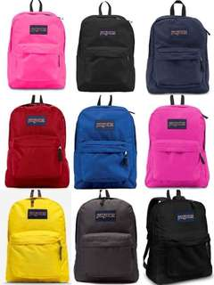 Original Jansport backpack perfect pang school bag