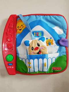 Fisher Price Musical Soft Book
